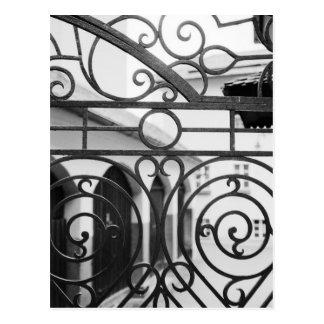 Europa Áustria Salzburg Detalhe de porta do met Cartoes Postais