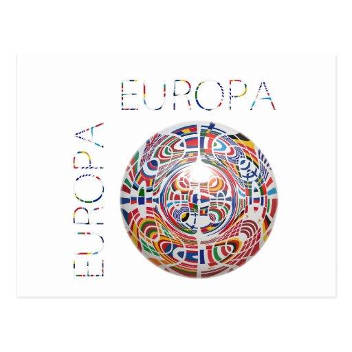 Europa! Cartoes Postais