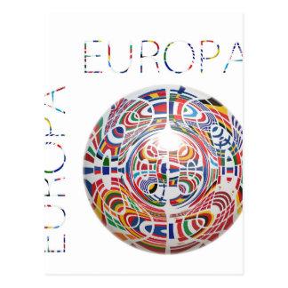 Europa! Cartão Postal