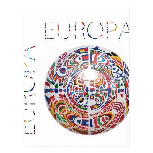 Europa! Cartões Postais