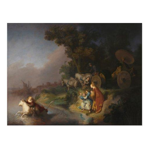 Europa de Rembrandt Cartão Postal