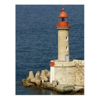 Europa, France, Córsega, Bastia.  Porto Cartão Postal
