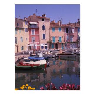 Europa, France, Provence, Martigues. Espelho de Cartão Postal
