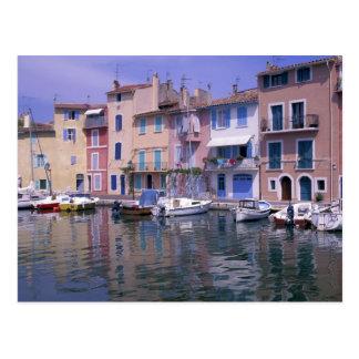 Europa, France, Provence, Martiques, Miroir Cartão Postal