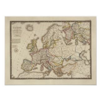 Europa histórica poster
