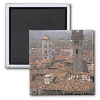 Europa, Italia, Toscânia, Lucca, panorama da cidad Ima