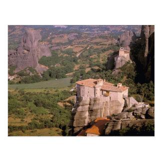 Europa, piscina, Thessaly, Meteora, Kastraki. Cartão Postal