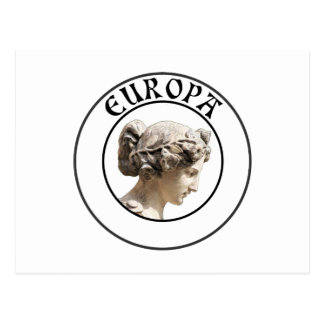 Europa Seja orgulhoso mostrar suas euro- raizes Cartão Postal