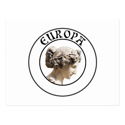 Europa: Seja orgulhoso mostrar suas euro- raizes! Cartão Postal