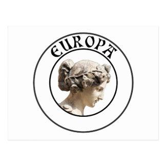 Europa Seja orgulhoso mostrar suas euro- raizes Cartao Postal