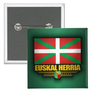 Euskal Herria Bóton Quadrado 5.08cm