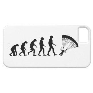 Evolução do caso de salto de pára-quedas do iPhone Capa Barely There Para iPhone 5