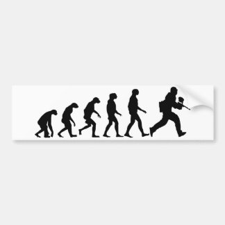 Evolução do Paintball Adesivo Para Carro