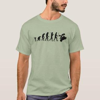 Evolução do t-shirt do moto