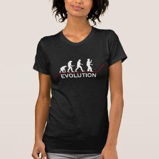 Evolução dos dardos camiseta
