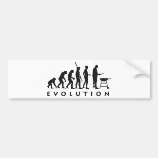 evolution barbecue adesivo para carro