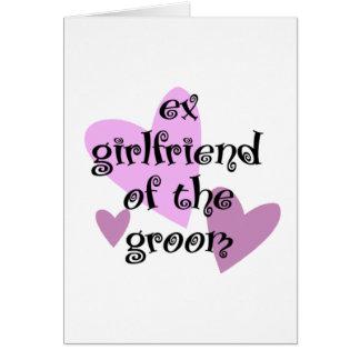 Ex-Namorada do noivo Cartão