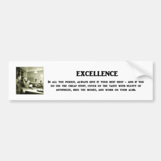 excelência-em-todo-você-levar a cabo-sempre-dar--s adesivo para carro