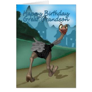 Excelente - cartão de aniversário do neto -
