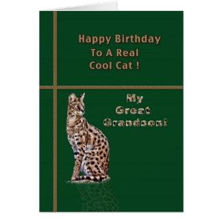 Excelente - cartão de aniversário do neto com Ocel