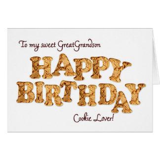 Excelente - neto, um cartão de aniversário para um