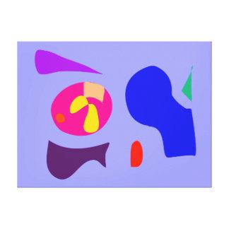 Excêntrico Impressão Em Canvas