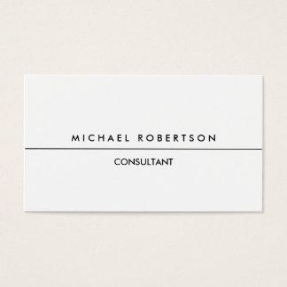 Exclusive claro branco preto especial original cartão de visitas