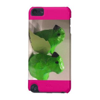 Exemplo cor-de-rosa do pássaro capa para iPod touch 5G