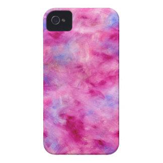 Exemplo cor-de-rosa feminino da case mate da capas iPhone 4