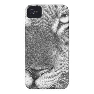 Exemplo da case mate do leopardo capinha iPhone 4