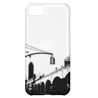 Exemplo da case mate iPhone-5 da ponte da cidade Capa Para iPhone 5C