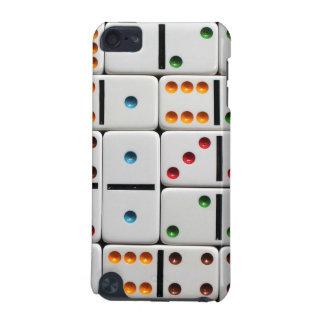 Exemplo da geração do ipod touch dos dominós 5o capa para iPod touch 5G
