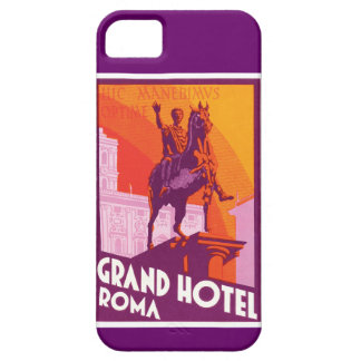 Exemplo de Roma iphone5 do vintage Capa Barely There Para iPhone 5