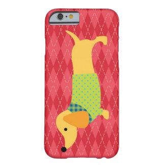 Exemplo do cão do Dachshund Capa Barely There Para iPhone 6