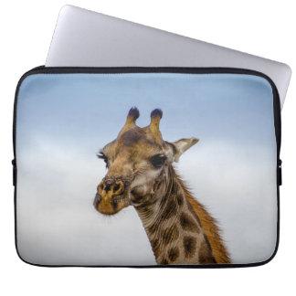 Exemplo do girafa para seu laptop bolsa e capa de notebook