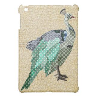 Exemplo do pavão do vintage capas para iPad mini