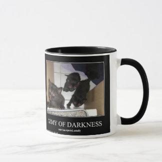 Exército da escuridão caneca