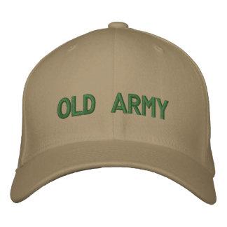 exército velho boné bordado
