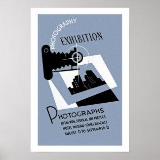 Exibição da fotografia poster