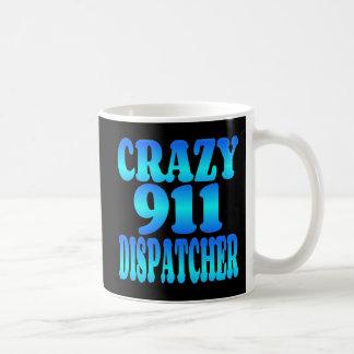 Expedidor 911 louco caneca de café
