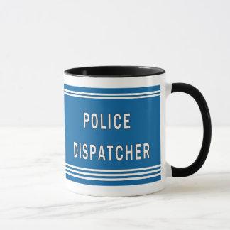 Expedidor da polícia caneca