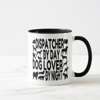 Expedidor do amante do cão caneca