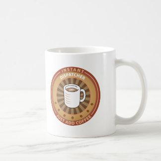 Expedidor imediato caneca de café