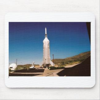 Exploração do espaço Rocket Mouse Pad