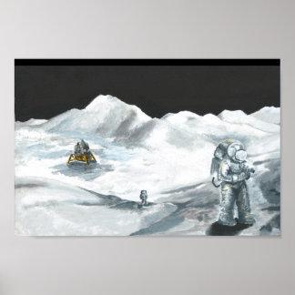 Exploração lunar de Apollo 15 Posteres