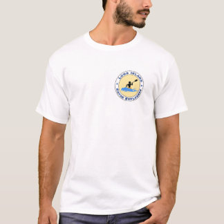 Exploradores do caiaque de Long Island dianteiros Tshirts