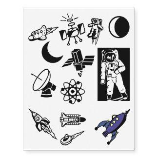 Explore o espaço! SciFi da nave espacial dos