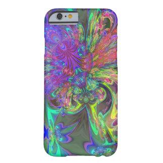 Explosão de incandescência da cor - cerceta & Deva Capa iPhone 6 Barely There