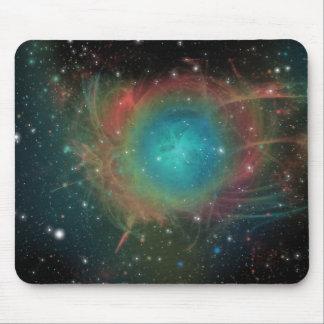 Explosões do espaço mouse pad