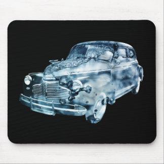 exposição dobro do lavagem de carros mouse pad